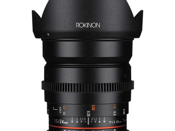 Rent: Rokinon Cine DS 24mm T1.5