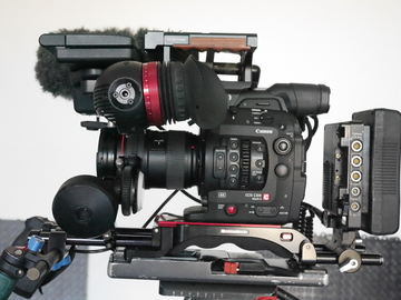 Rent: Canon EOS C300 Mark II FULL KIT