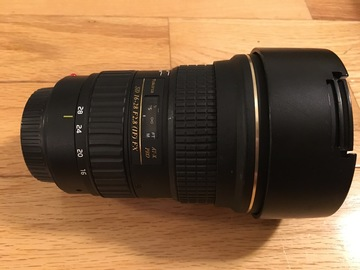 Rent: Tokina AT-X 16-28mm f/2.8 Pro FX Lens for Canon