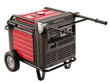 Rent: Honda EU6500is generator
