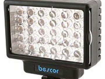 Bescor On Camera LED Light