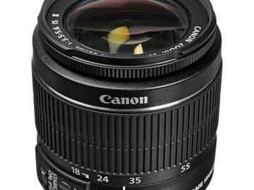 Rent: Canon EF-S 18-55mm f/3.5-5.6 IS II SLR Standard Autofocus