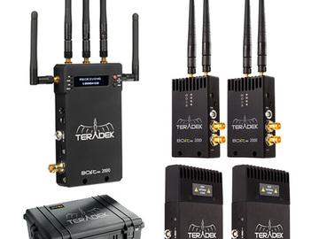 Rent:  [Ultimate kit] Teradek Bolt Pro 3G-SDI/HDMI 2000