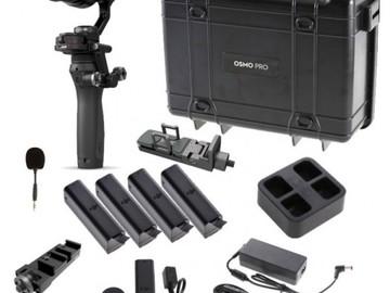 Rent: DJI Osmo X5 PRO Handheld Gimbal w/ 12mm & 14-42mm lenses