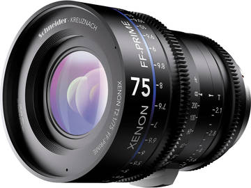 Rent: Schneider Xenon-FF 75mm T2.1 prime HD lens