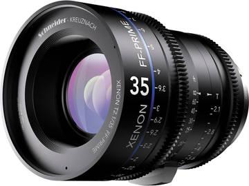 Rent: Schneider Xenon-FF 35mm T2.1 prime HD lens