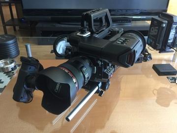 Rent: URSA Mini Pro w/ viewfinder and shoulder mount