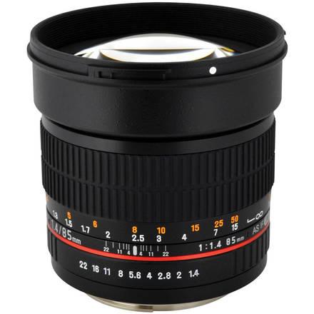 Canon 85mm f1.4 prime HD lens, EF mount