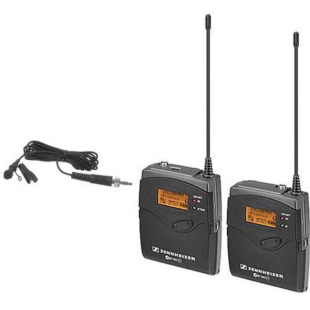Sennheiser G3 Wireless (2) Lavalier Rental Kit
