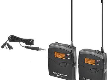 Rent: Sennheiser G3 Wireless (2) Lavalier Rental Kit