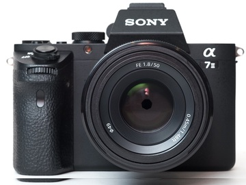 Rent: NEW Sony Alpha a7S II + EF Adapter + 5 Batteries and charger