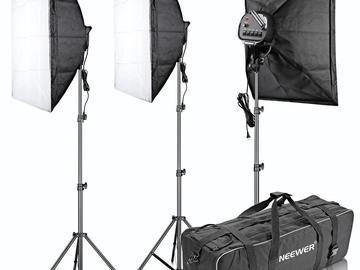 Rent: Neewer Neewer Studio Lighting Kit (3 Studio Lamps)