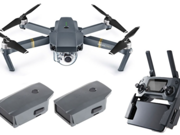 Rent: Mavic PRO with 2 batteries and ND-32 Filter already