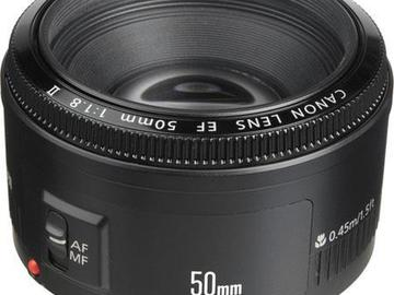 Rent: Canon 50 mm 1.8