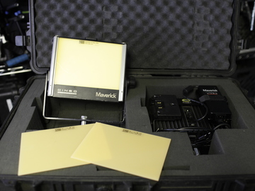 Two-light Cineo Maverick Remote Phosphor LED Kit