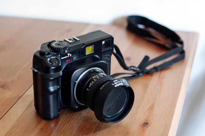 Mamiya 7ii w. 80mm F4 lens
