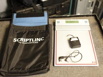 Rent: Katamount Scriptlinc Time Code |Script Supervisor Clip Board