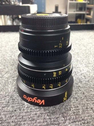 Veydra 35mm Lens (Micro Four Thirds or E-Mount)