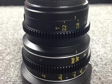 Rent: Veydra 50mm Lens (M4/3 or E-Mount)