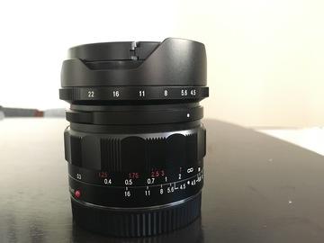 Rent: Voigtlander 15mm F4.5 - Sony FE mount