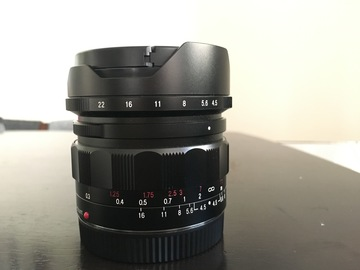 Rent: Voigtlander 15mm F4.5 - Sony FE mount