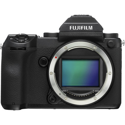 Fujifilm GFX 50S medium format camera + 23,45, 63, 110 lens