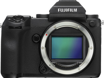 Rent: Fujifilm GFX 50S Camera with 23, 63, 110, 32-64 zoom lens,
