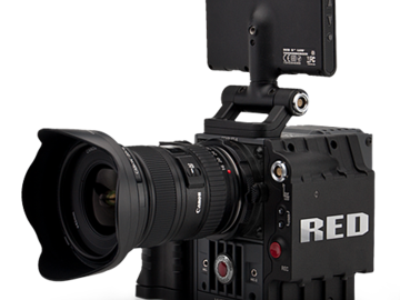 Rent: Red Scarlet PL and Canon Mount