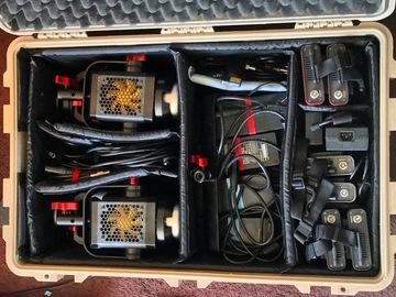 Rent: Aputure 6 LED light kit (High power