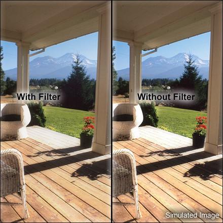 Tiffen Black Promist 4x5 filters 1/8,1/4
