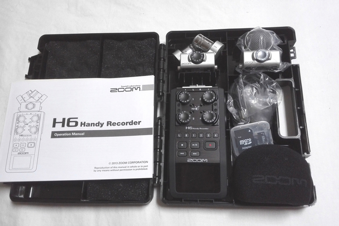Rent A Zoom H6 Recorder With Case Card Batteries Best Prices