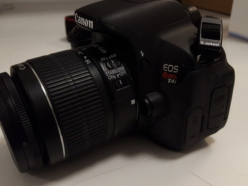 Rent: Canon EOS Rebel T4i and 18-55mm