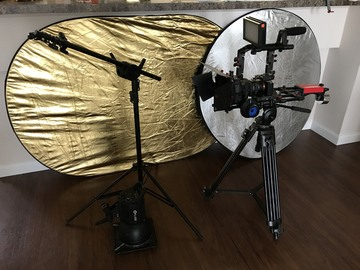 Rent: Sony  a7S II package 1000w light, rig, + 5 Batteries