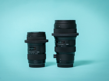 Rent: Sigma 18-35mm & 50-100 f/1.8 - Canon Kit