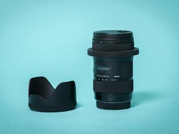 Rent: Sigma 18-35mm f/1.8 DC HSM Art - Canon