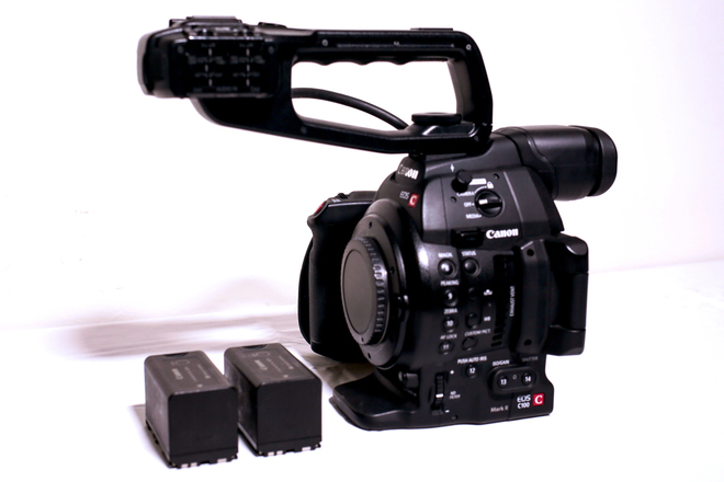 Canon C100 Mark II - Body Only