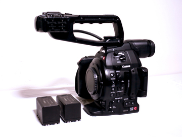 Rent: Canon C100 Mark II - Body Only