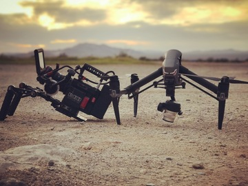 Rent: DP with RED Epic-W Helium 8K and Inspire 2 drone