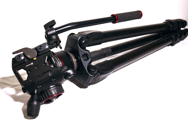 Manfrotto 536 & Nitrotech N8 Fluid Head