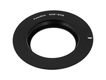 Rent: M42 to Canon EF EF-S Lens Adapter