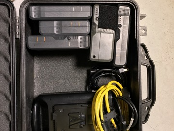 Rent: V mount Batteries with charger