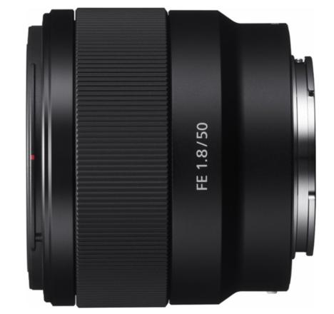 Sony - FE 50mm f/1.8 Prime Lens for Sony Alpha E-mount Camer