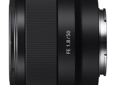Rent: Sony - FE 50mm f/1.8 Prime Lens for Sony Alpha E-mount Camer