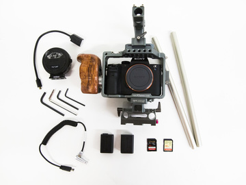 Rent: Sony A7S II Mirrorless 4K Camera w/ Tilta cage/ Figrig