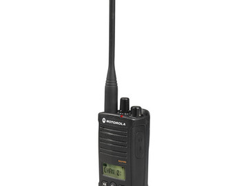 Rent: 10 Motorola RDU4160d radio with hard leather case, 6 pack ch