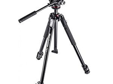 Rent: Manfrotto 190X Tripod w/ 3-Way Head & Quick Release Plate