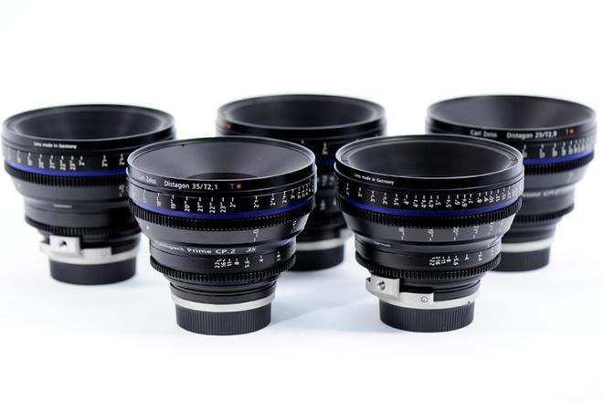 Zeiss Compact Prime CP.2 (4) Lens Set
