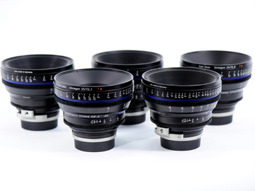 Rent: Zeiss Compact Prime CP.2 (4) Lens Set