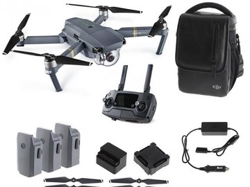 Rent: DJI MAVIC PRO + 4 x BATTS + 3 x POLAR PRO PREMIUM ND FILTERS