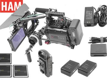 Rent: Ursa Mini 4.6K | AC7 Monitor | Shoulder Rig | Matte Box
